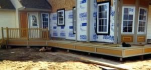 porch footings